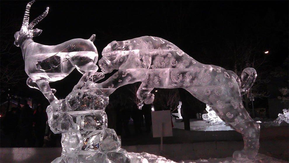 ледяные скульптуры, фото 8