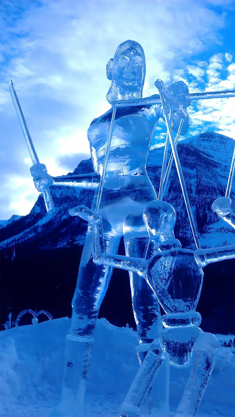 ледяные скульптуры, фото 9