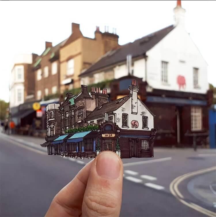Скетчи Лондона, фото 2