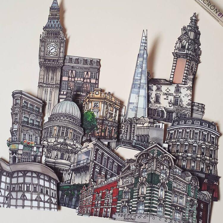 Скетчи Лондона, фото 6