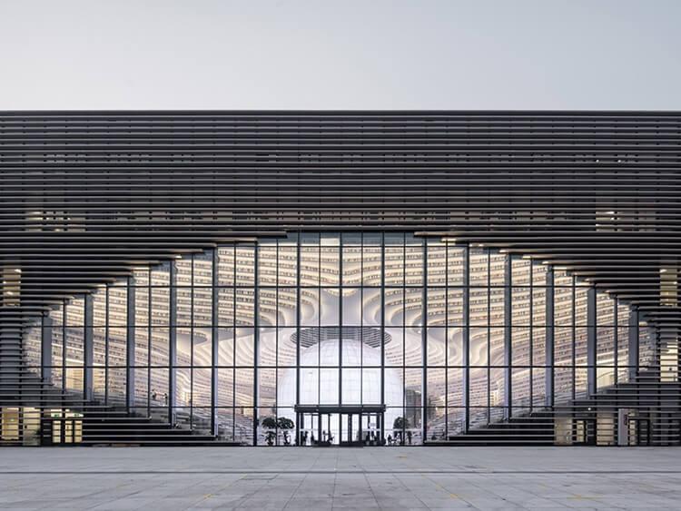Библиотека Тяньцзинь Биньхай, фото 6