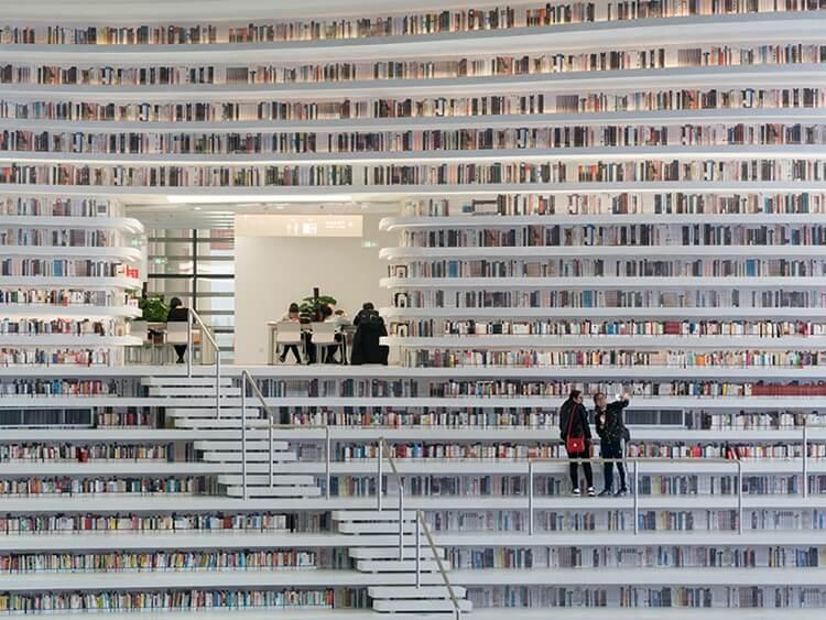 Библиотека Тяньцзинь Биньхай, фото 3