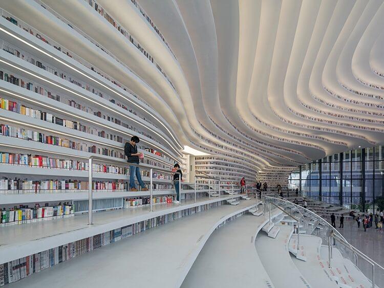 Библиотека Тяньцзинь Биньхай, фото 4