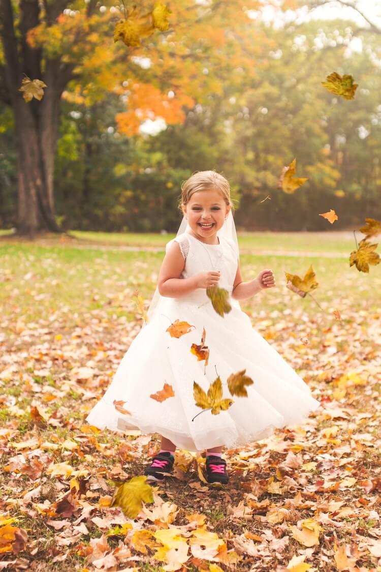 Свадебная фотосессия 5 летней девочки, фото 6