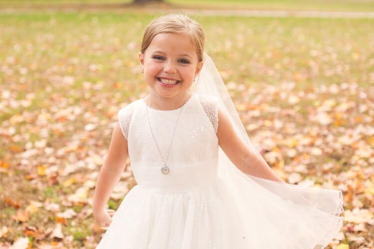 Свадебная фотосессия 5 летней девочки, фото 4