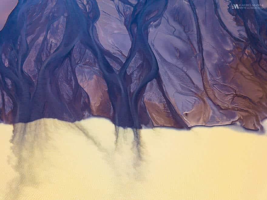 потрясающие виды Исландии, фото с дрона 11