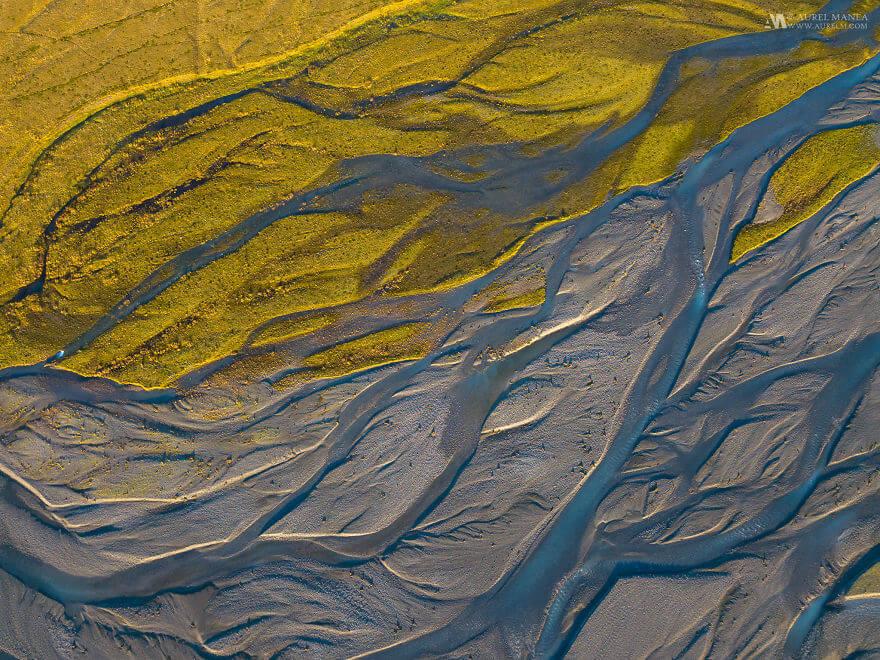 потрясающие виды Исландии, фото с дрона 14