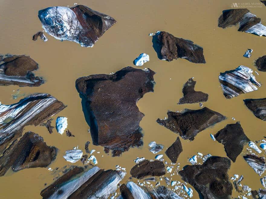потрясающие виды Исландии, фото с дрона 16