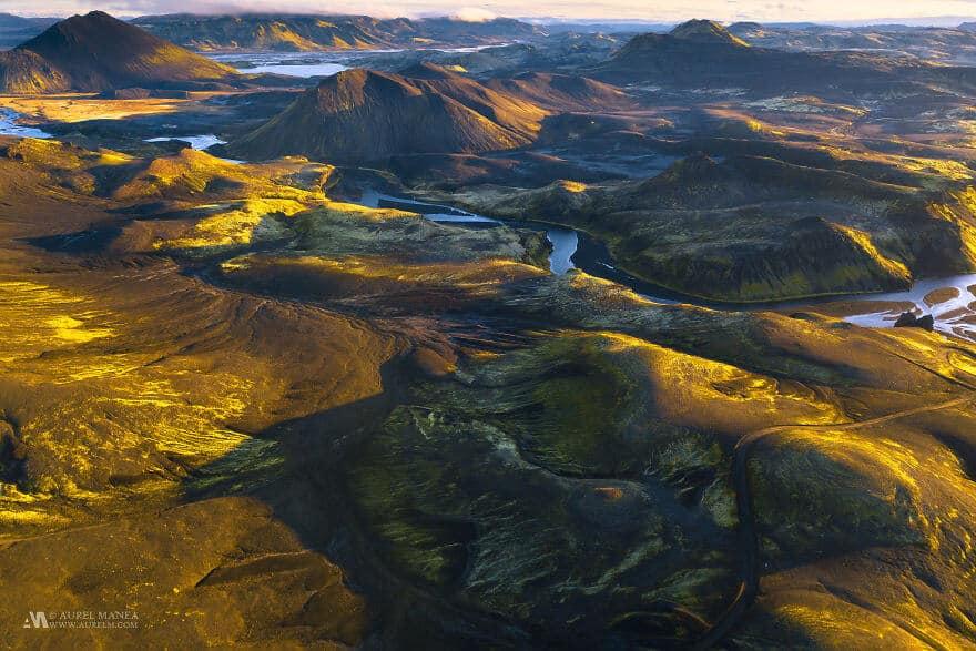 потрясающие виды Исландии, фото с дрона 2