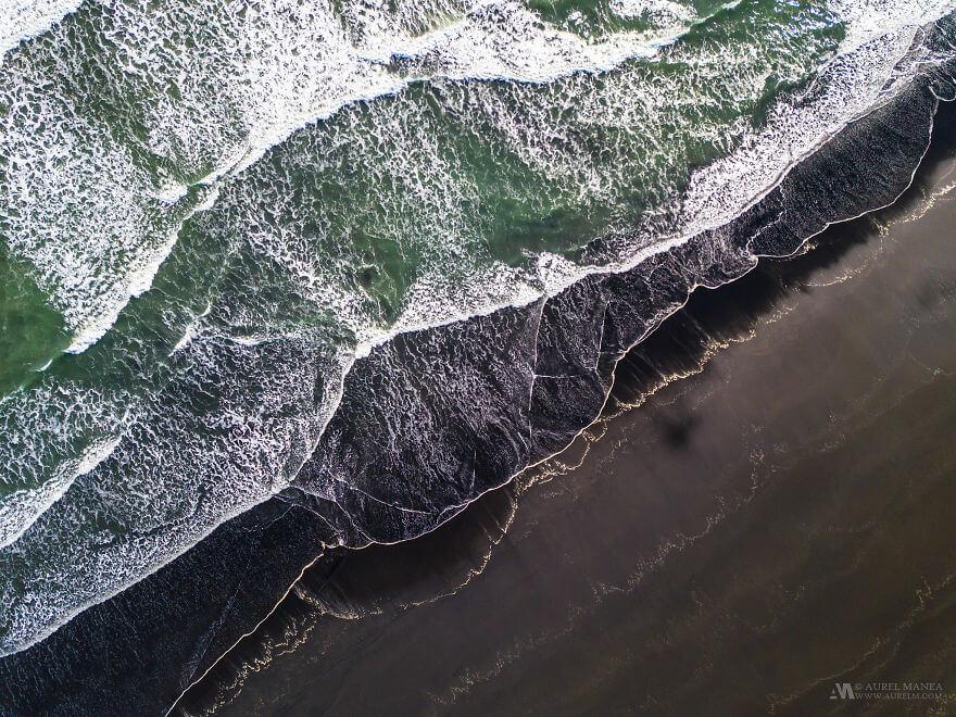 потрясающие виды Исландии, фото с дрона 9