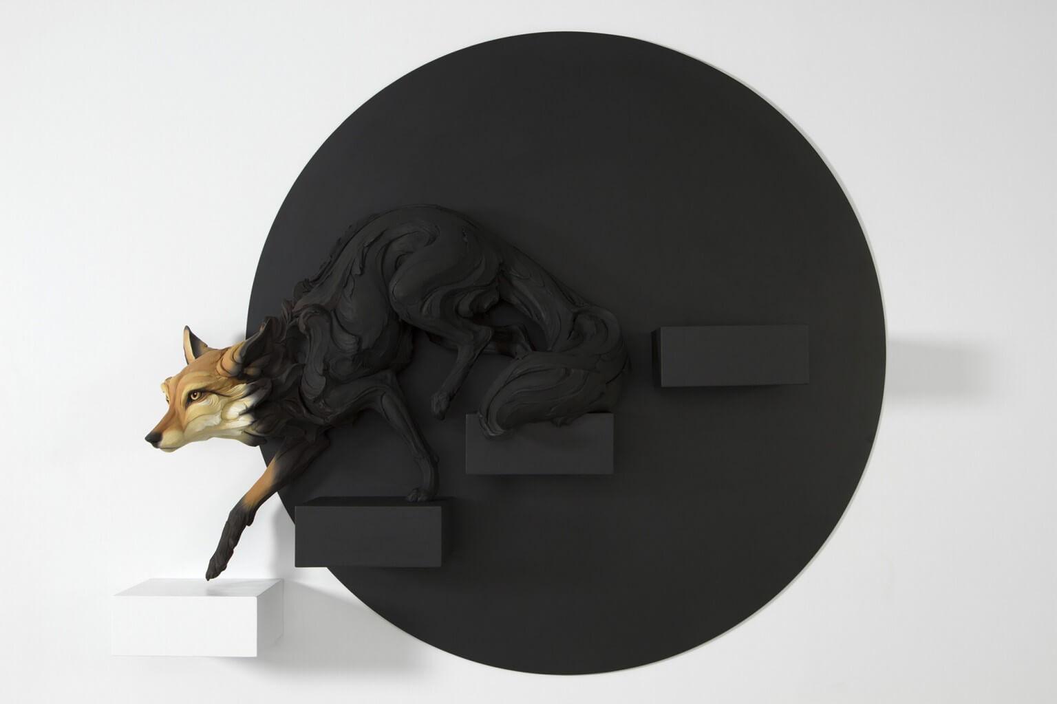 скульптуры животных с человеческими эмоциями, фото 1