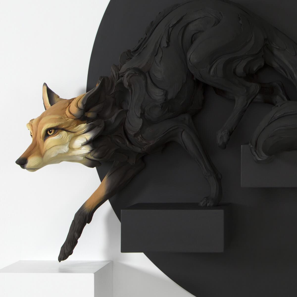 скульптуры животных с человеческими эмоциями, фото 2