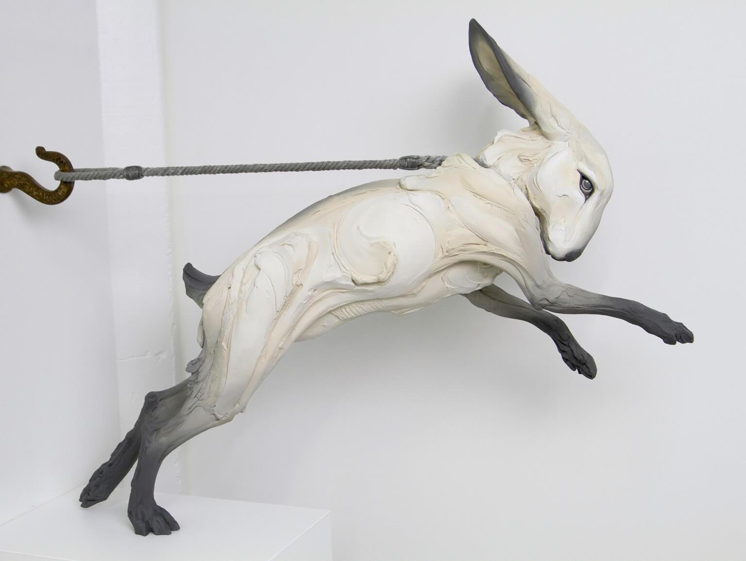 скульптуры животных с человеческими эмоциями, фото 3