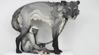 скульптуры животных с человеческими эмоциями, фото 6