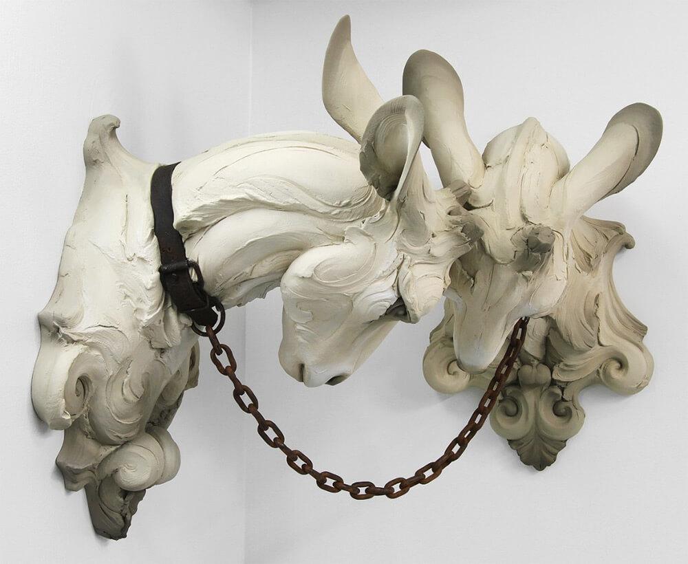скульптуры животных с человеческими эмоциями, фото 8