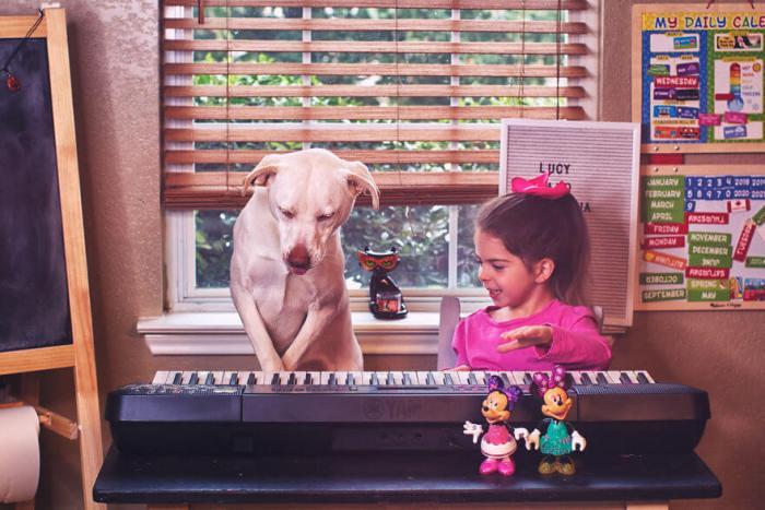 Как взятая из приюта собака стала лучшим другом маленькой девочки