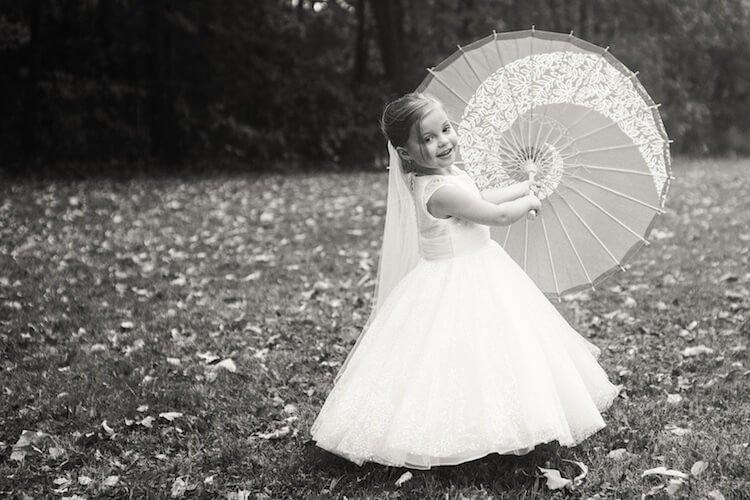 Свадебная фотосессия 5 летней девочки, фото 13