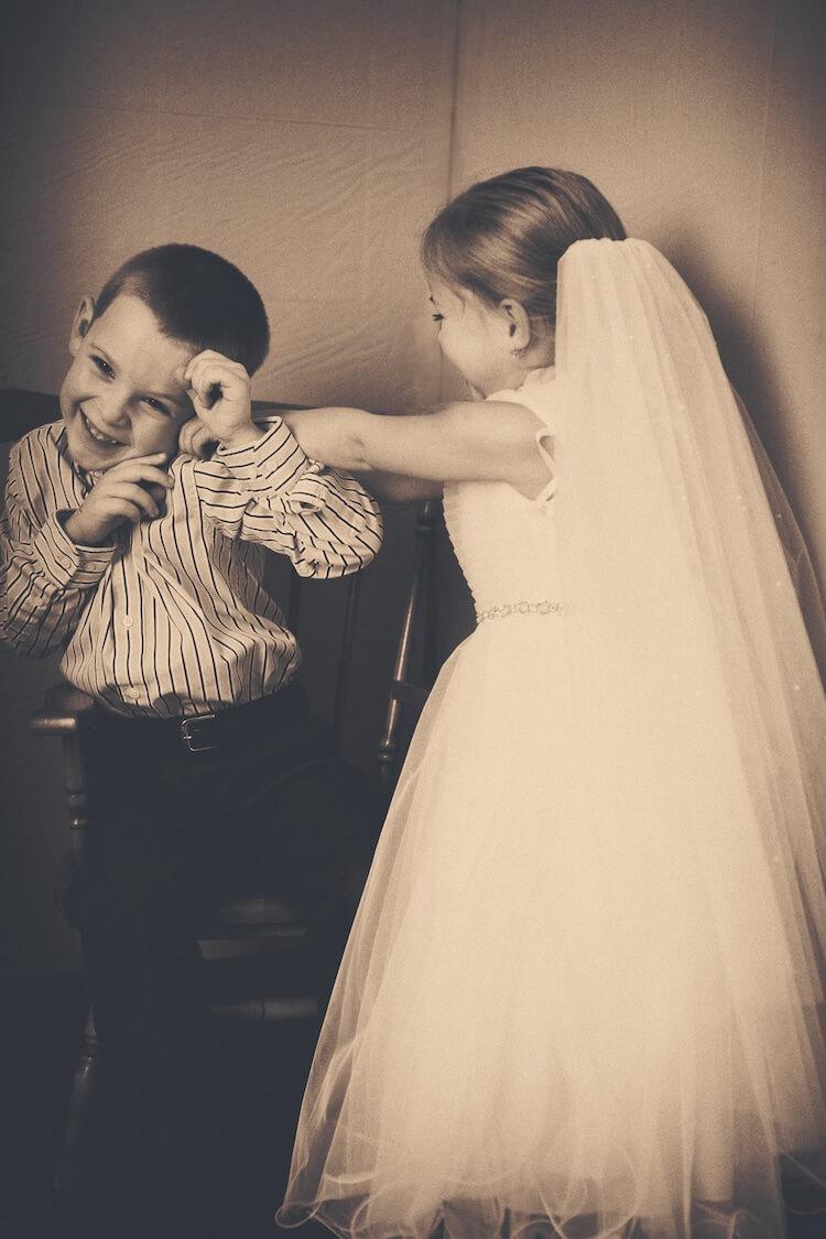 Свадебная фотосессия 5 летней девочки, фото 12