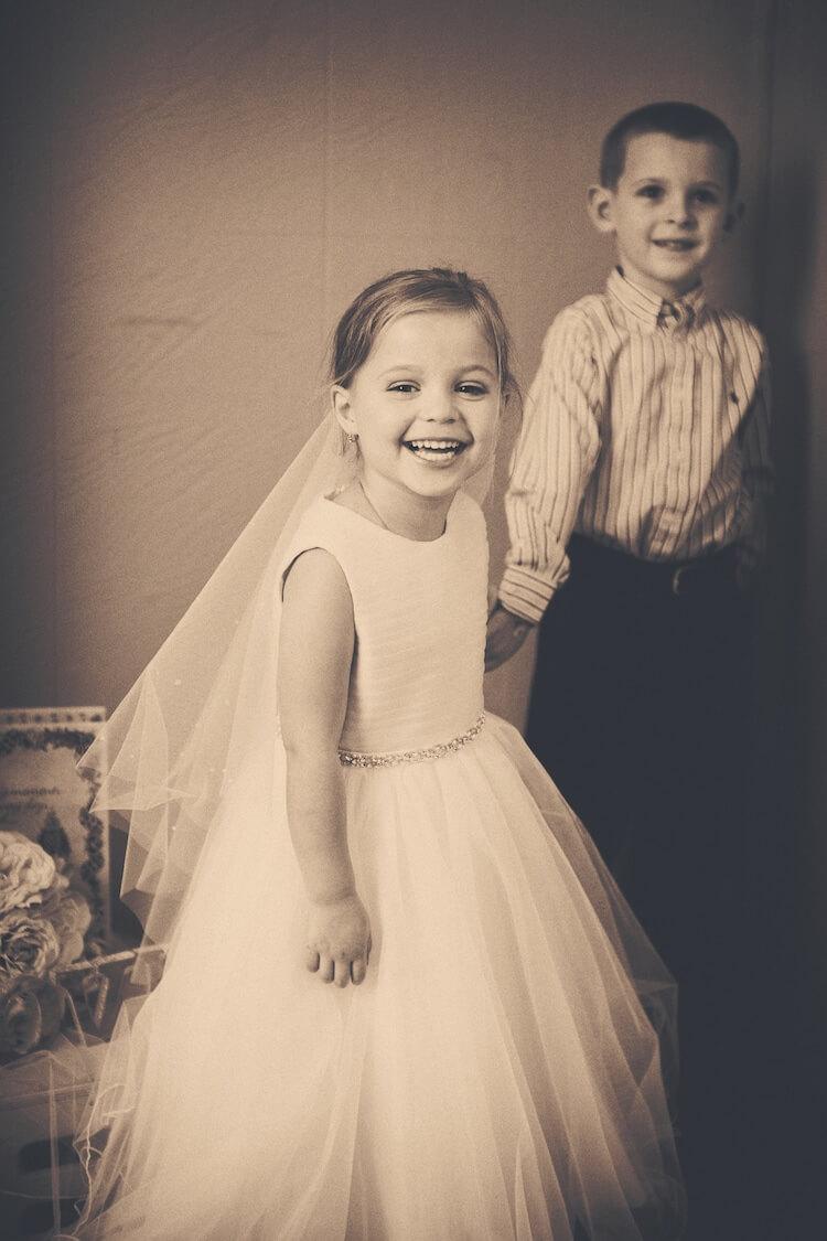 Свадебная фотосессия 5 летней девочки, фото 11