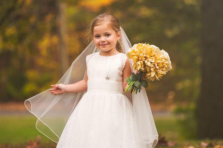 Свадебная фотосессия 5 летней девочки, фото 14