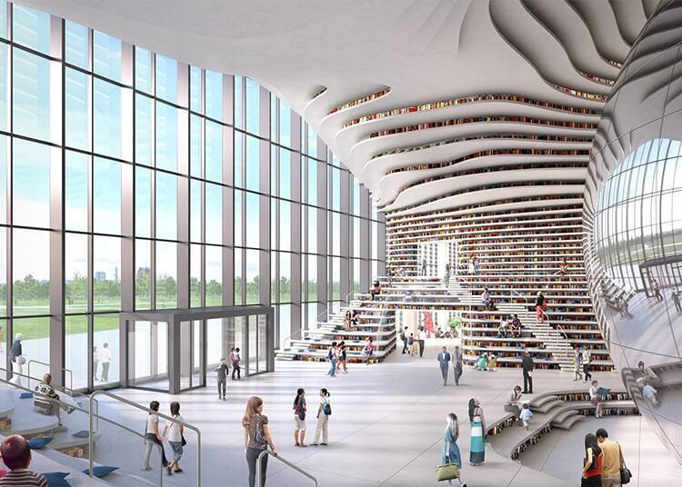 Библиотека Тяньцзинь Биньхай, фото 7