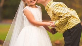 Свадебная фотосессия 5 летней девочки, фото 10