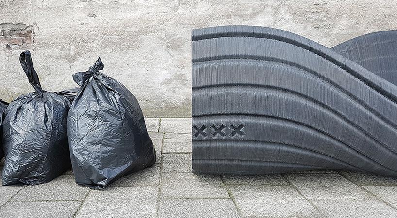 Скамейка из переработаного пластика, фото 2