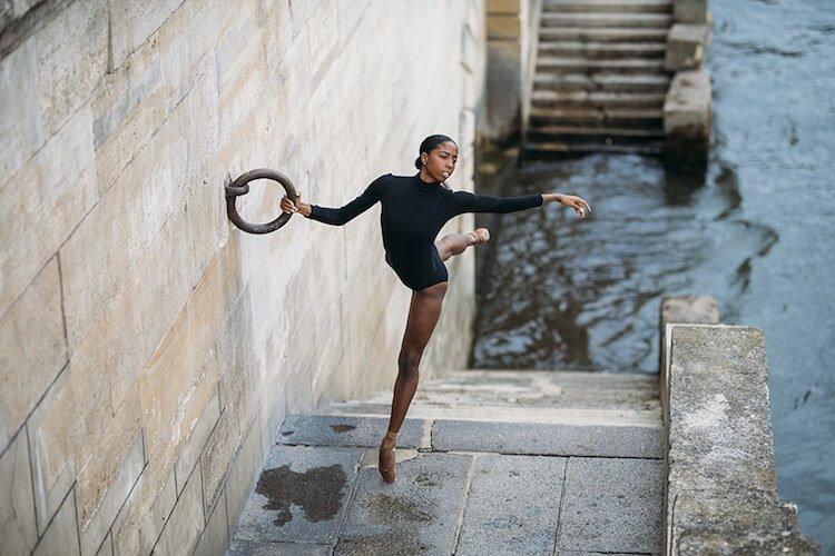 Танцоры балета на городских улицах, фото 18