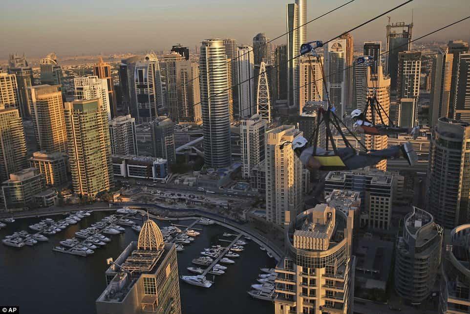 Самый длинный городской зиплайн, фото 1