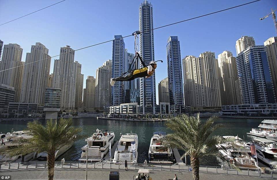Самый длинный городской зиплайн, фото 2