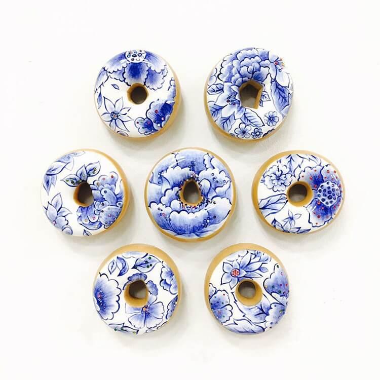Пончики с керамической глазурью, фото 9
