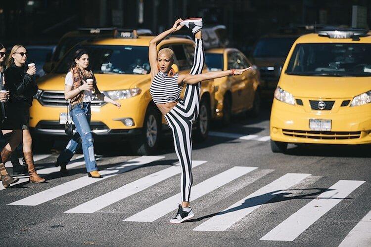 Танцоры балета на городских улицах, фото 10