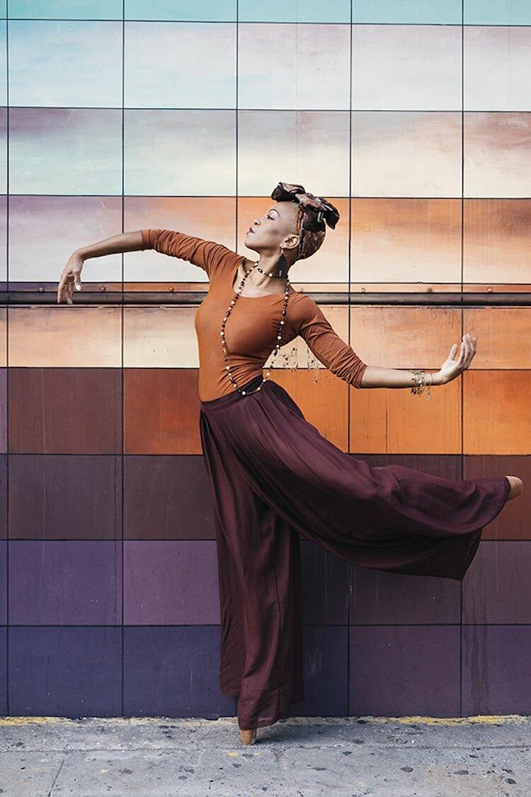 Танцоры балета на городских улицах, фото 11