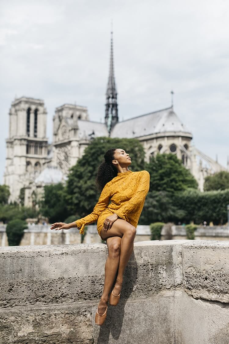 Танцоры балета на городских улицах, фото 12