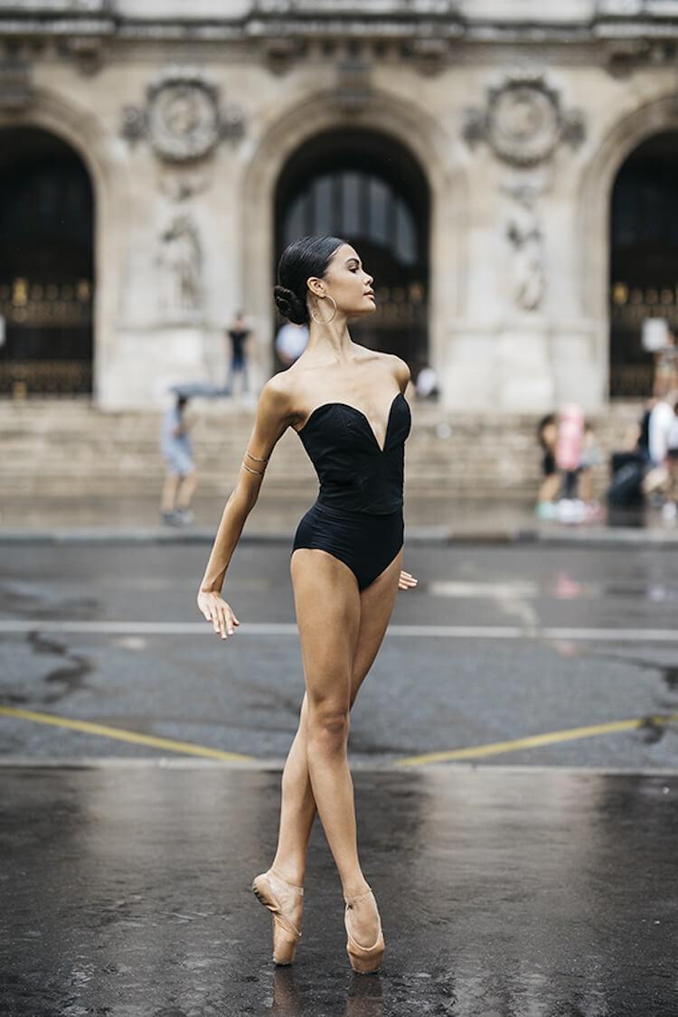 Танцоры балета на городских улицах, фото 14