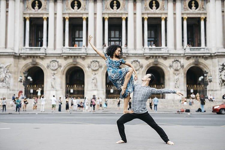 Танцоры балета на городских улицах, фото 15