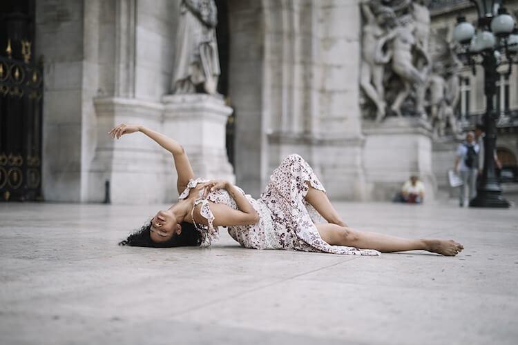 Танцоры балета на городских улицах, фото 16