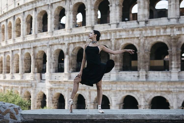 Танцоры балета на городских улицах, фото 17