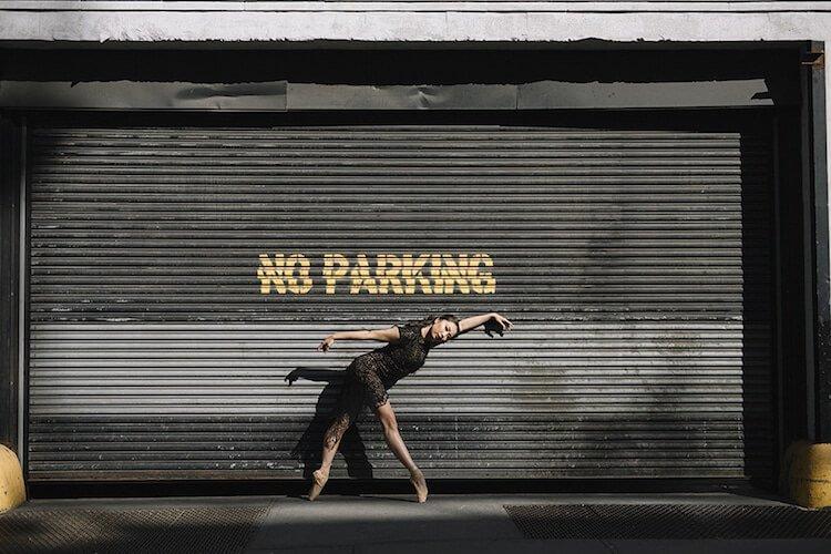 Танцоры балета на городских улицах, фото 2