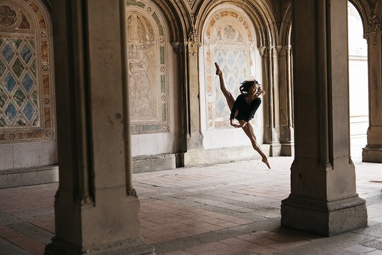 Танцоры балета на городских улицах, фото 4