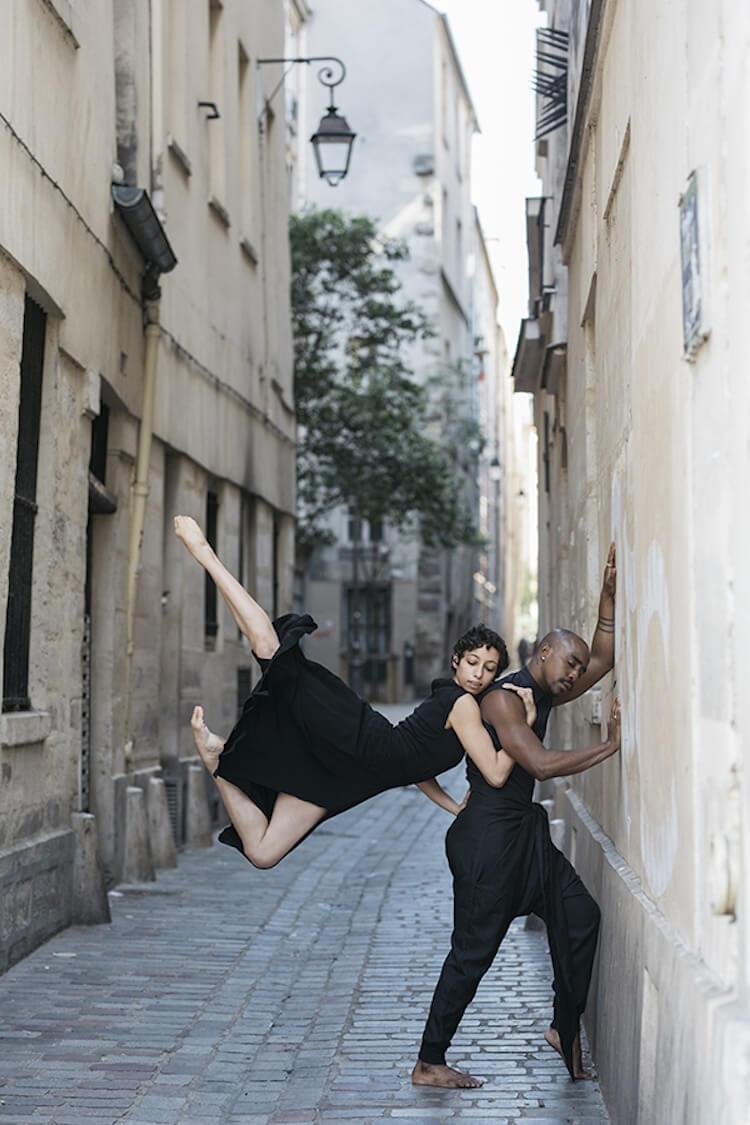 Танцоры балета на городских улицах, фото 7