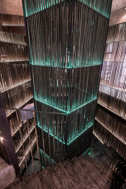 Ресторан из бамбука, фото 8