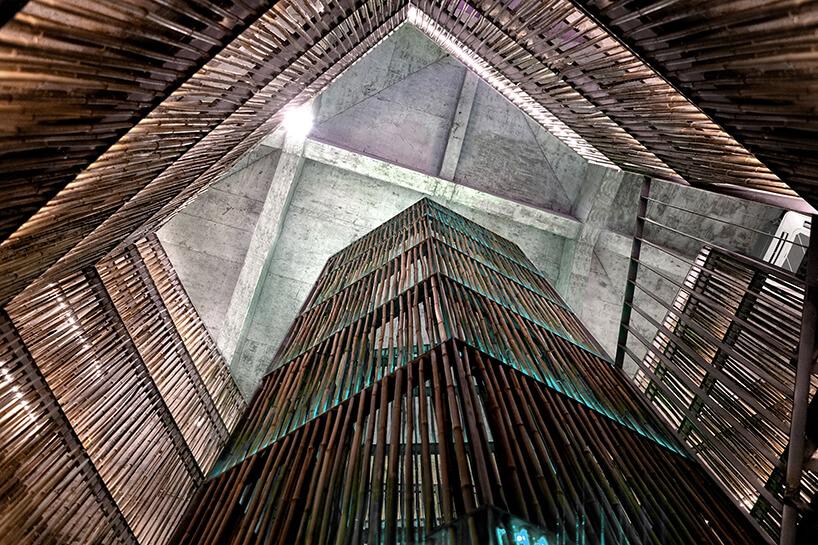 Ресторан из бамбука, фото 1