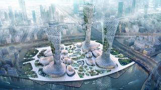 Комплекс небоскребов в Дубае, фото 1