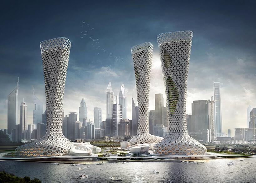 Комплекс небоскребов в Дубае, фото 2