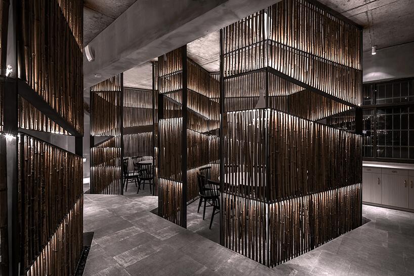 Ресторан из бамбука, фото 3