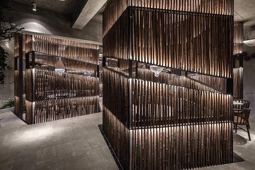 Ресторан из бамбука, фото 4