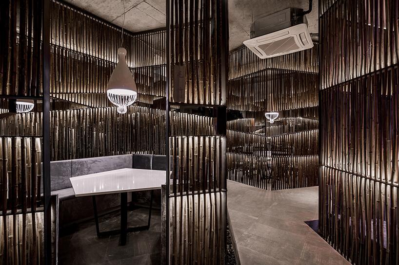 Ресторан из бамбука, фото 5