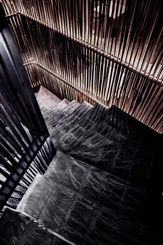 Ресторан из бамбука, фото 6