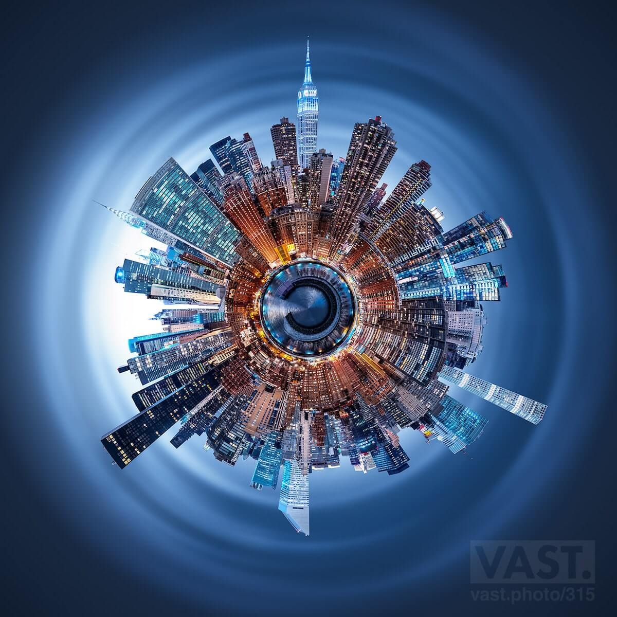 600 мегапиксельная фотография Манхєттена, фото 1